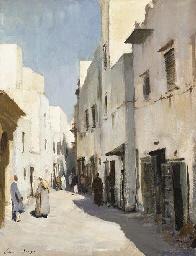 Street in Essaouira, Morocco