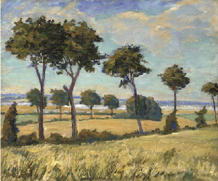 Trees in the eastern counties,