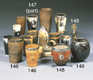 A collection of sixteen horn b