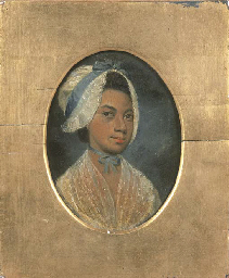 Portrait of a lady, previously