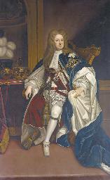 Portrait of King George I (166