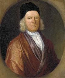 Portrait of Rev. Thomas Tooke