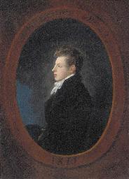 Portrait of John Baines aged 2