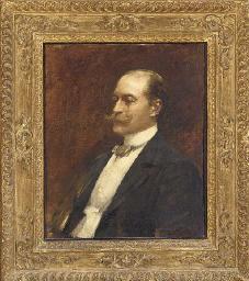 Portrait of Edward Taylor, bus