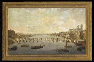 View of Westminster Bridge fro