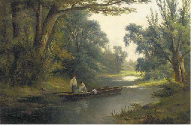 Fishing from the punt