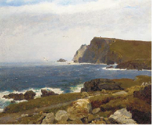 Stormy morning, coast of Doneg