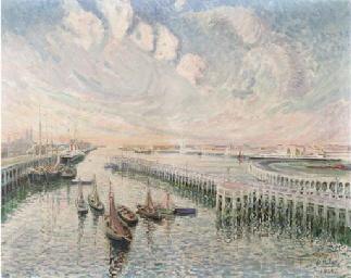 L' Estacade du port d'Ostende