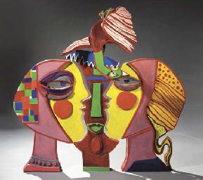 Sculpture sur bois d (in four