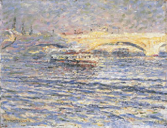 View on the Pont Neuf, Paris