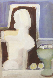A nude with still life