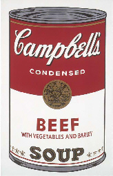 Campbell's soup I (F&S 49)