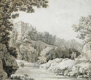 View of Ariccia, Italy