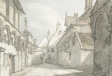 The infirmary chapel, Ely, loo