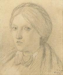 Portrait of Emma Madox Brown,