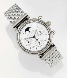 IWC, AN 18ct. WHITE GOLD AUTOM