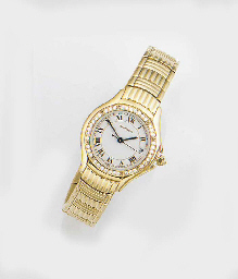 CARTIER, A LADY'S 18ct. GOLD A