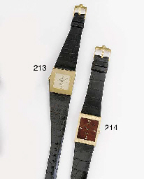 ROLEX, AN 18ct. GOLD ASYMETRIC