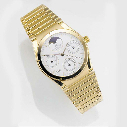 IWC, AN 18ct. GOLD AUTOMATIC P