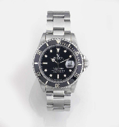 ROLEX, A DIVER'S STAINLESS STE