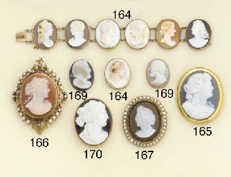 A collection of five antique a