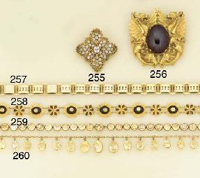 A 19th century gold, topaz nec