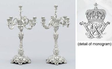A pair of German Royal Prussia