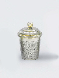 A German parcel-gilt beaker an