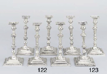 A set of Six George II silver
