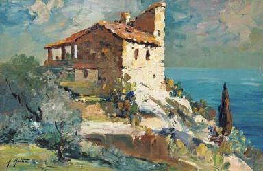 Une maison aux jardins exotiqu