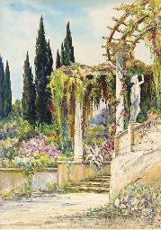 Le jardin au bord de la Méditt