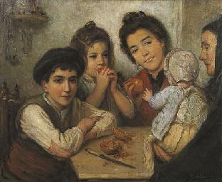In famiglia, 1902
