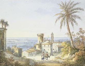 Veduta di Lanuvio (Civitalavin