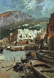 Capri, notturno a Marina Picco