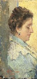 Profilo di donna, 1899