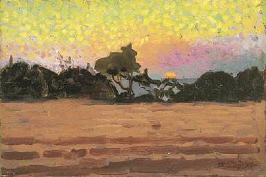 Paesaggio all'alba, 1907