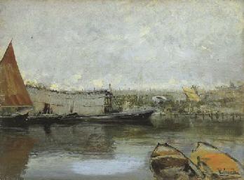 Giornata grigia a Chioggia