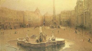 Roma, Piazza Navona, 1911