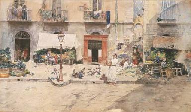 Napoli, Borgo Santa Lucia