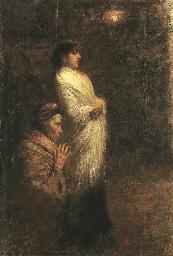 Due donne in preghiera