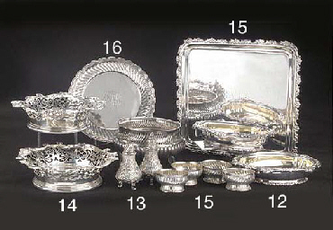A Set of Four American Silver