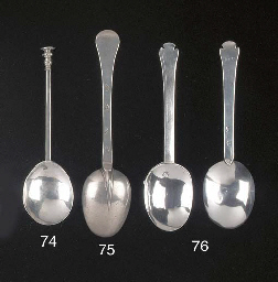 A Charles II Silver Spoon
