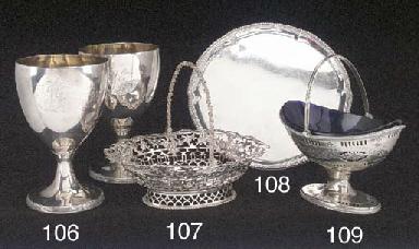 A George III Silver Sweetmeat