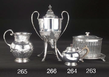 A Late Victorian Silver Jug