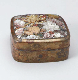 A Covered Lacquer Box,