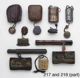 Two Pipecases and Tobacco Pouc