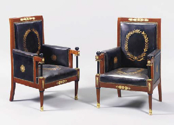 A PAIR OF BALTIC NEOCLASSIC ST