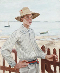 A Young Man by the Sea