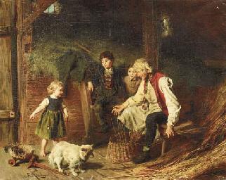 The Old Basket Weaver