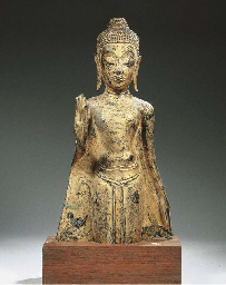a thai, ayutthaya style, gilt